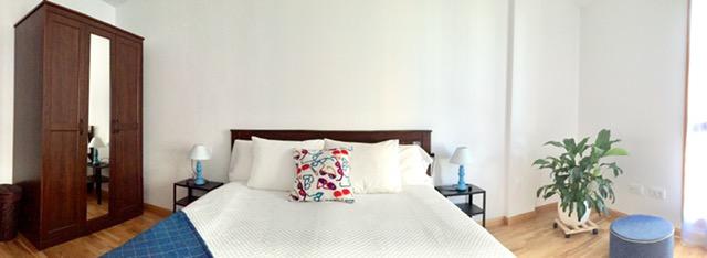 Alojamiento con cama de matrimonio en Ponteareas